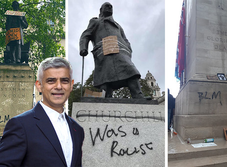 """Hands off London's history"" Sadiq Khan told after Mayor declares war on London's monuments"