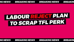 City Hall Labour votes to protect £44 million TfL perk