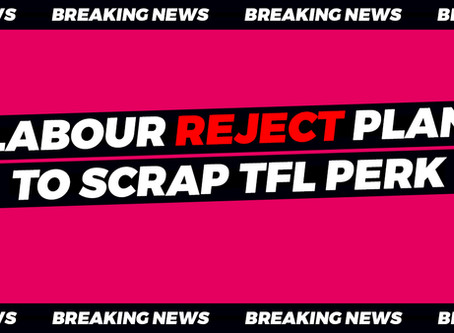 Labour rejects call to cut wasteful TfL staff perk to help cancel Khan's planned police cuts