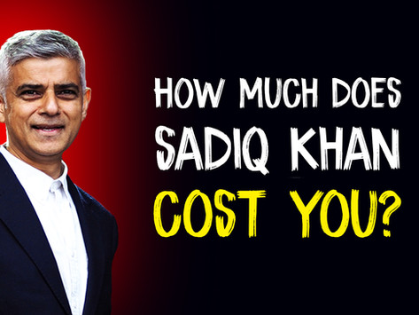 Council Tax: How much does Sadiq Khan cost you?