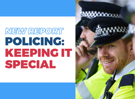 Our plan to boost number of special constables to make London safe