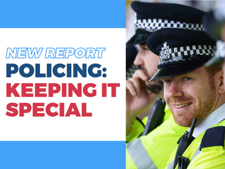Plan to recruit more special constables unveiled