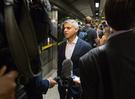 Khan playing politics by threatening to cut London's Tube service unless TfL is bailed out