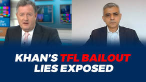 EXPOSED: Sadiq Khan's lies about TfL bailout