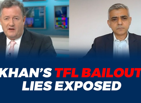 EXPOSED: Sadiq Khan's lies about TfL bailout