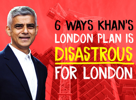 Sadiq Khan's Disastrous London Plan