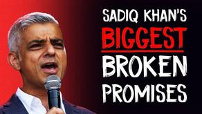 Sadiq Khan's 7 BIGGEST Broken Promises