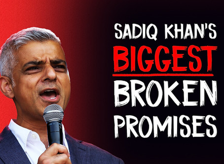 Sadiq Khan's 7 BIGGEST Broken Promises