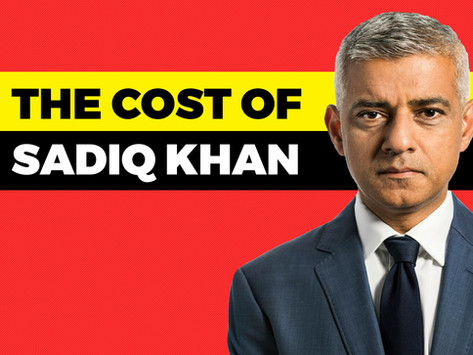 New report reveals the cost of Sadiq Khan's mayoralty