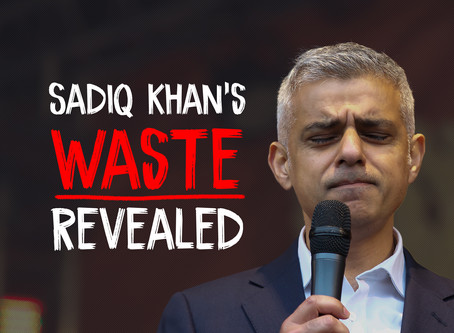 Sadiq Khan's Waste Revealed