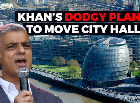 Moving City Hall could save 50% less than Sadiq Khan claims