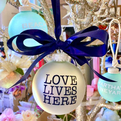 Love Lives Here Ornament