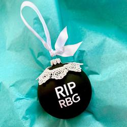 RBG RIP RBG (large) lace collar $35