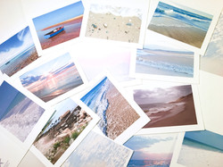 beach collection notecards