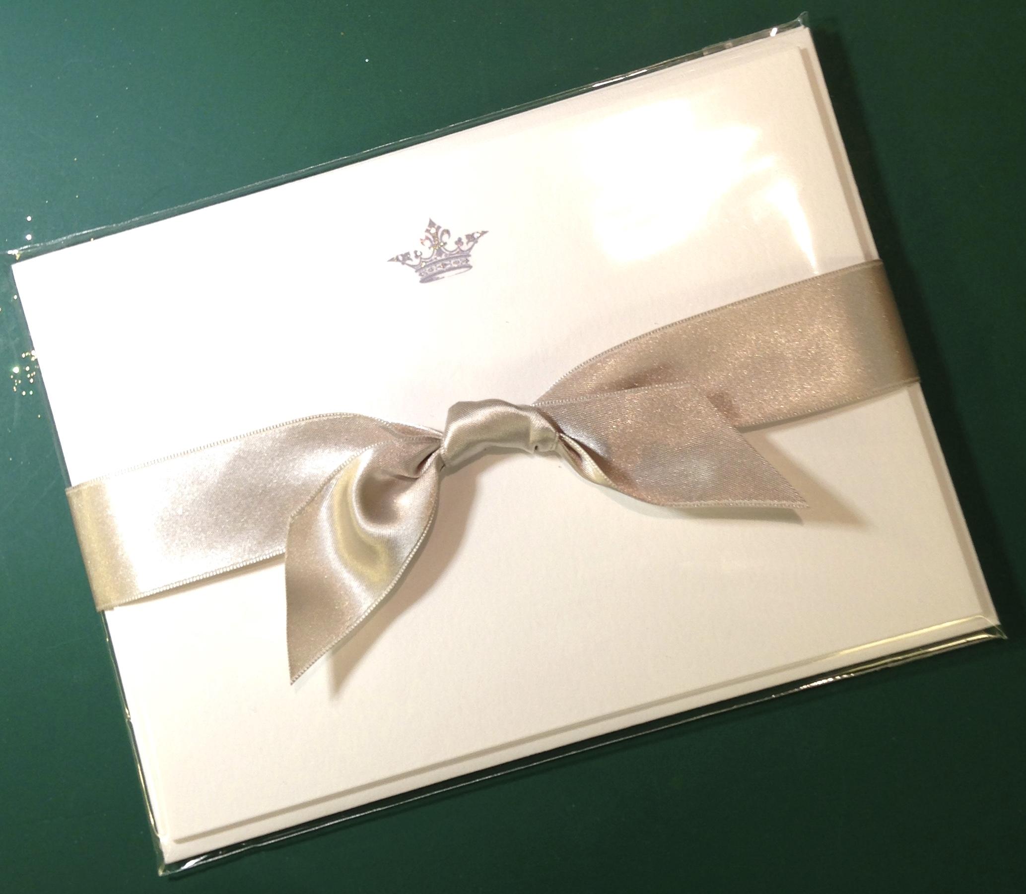 Crown Correspondence Cards