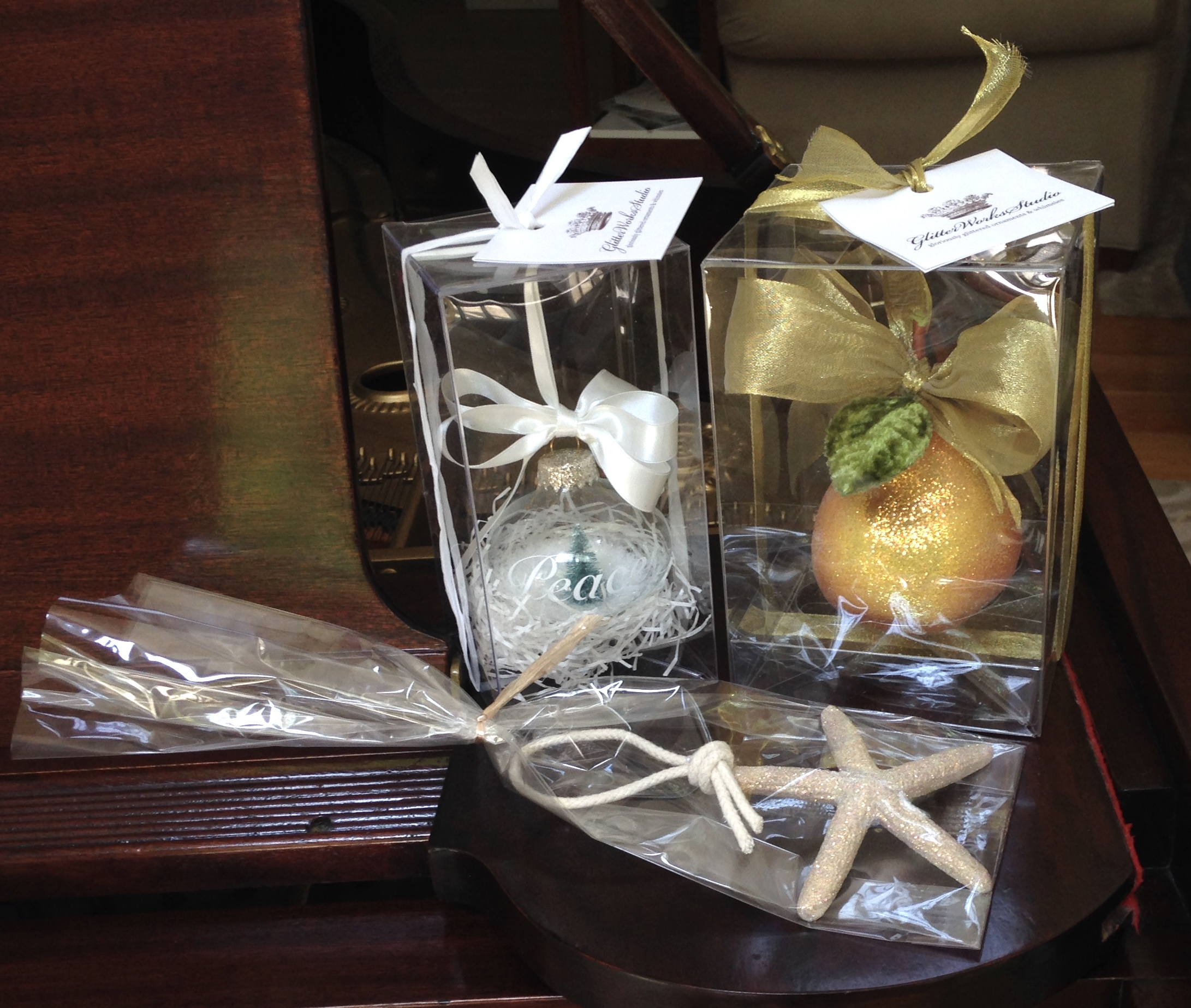 Peace Orb, Golden Pear and SeaStar