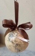Globe Ornament with City Flag