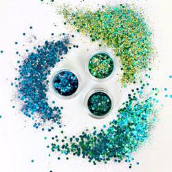 ecoGlimmer Merman Collection bio glitter