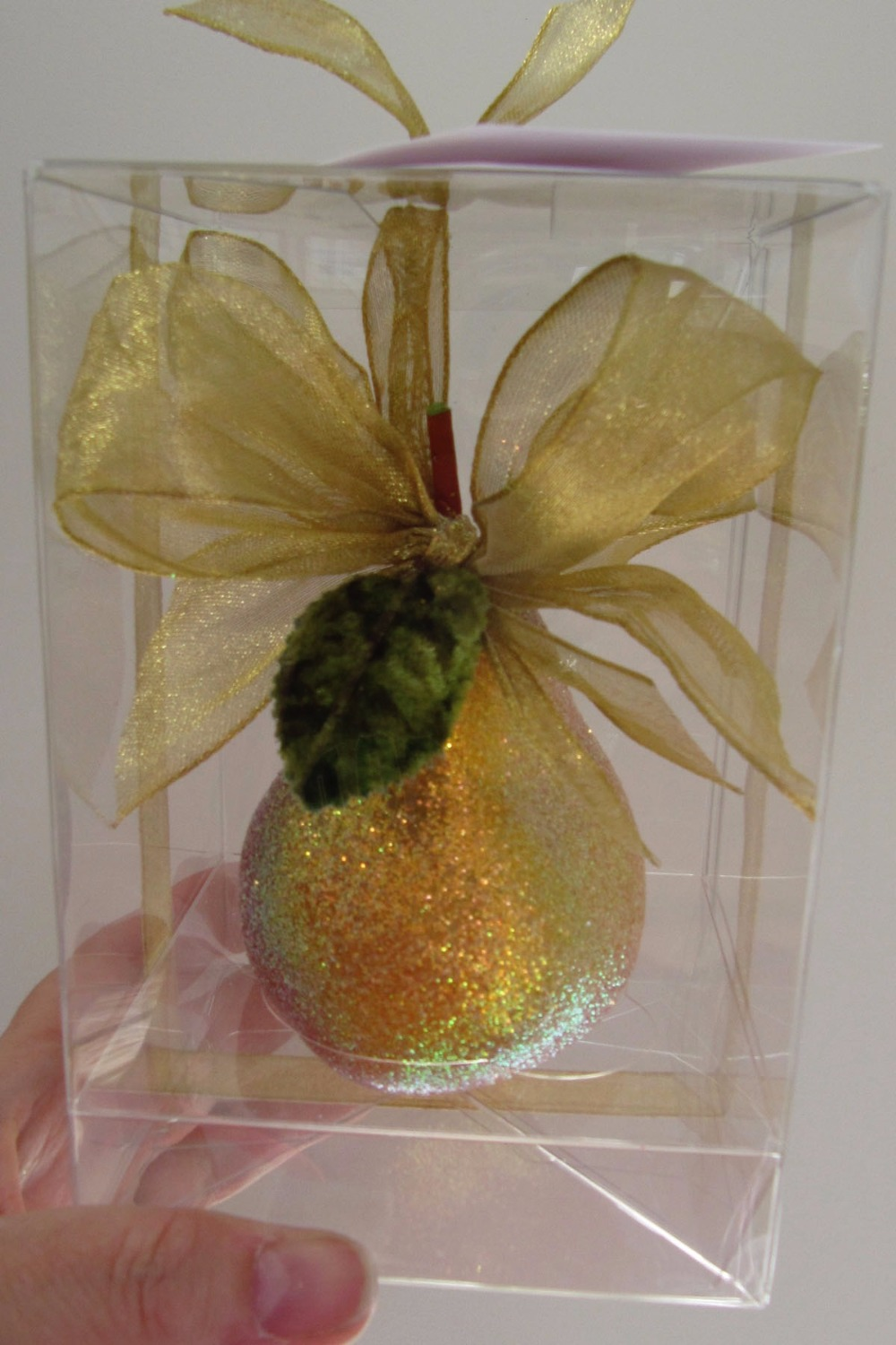Golden Pear Ornament