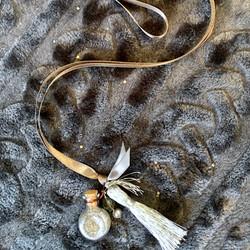 Fairy Dust Wishing Bottles on ribbon