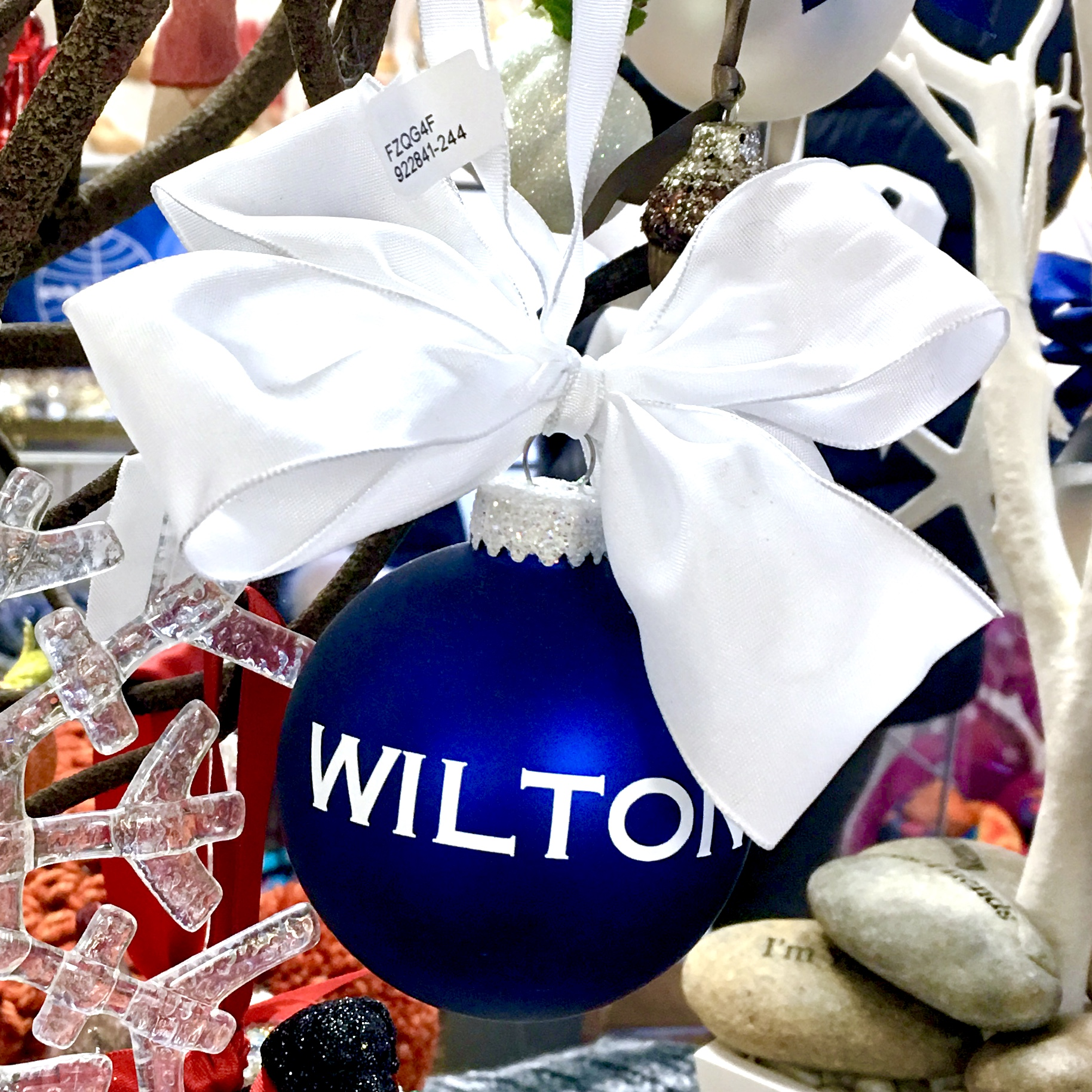 WILTON ornament