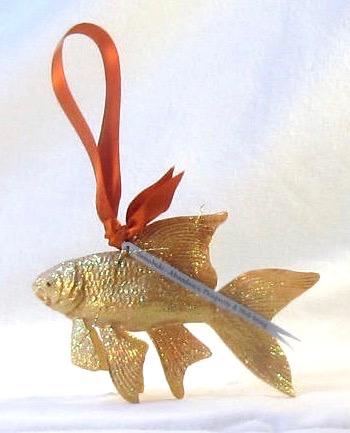 Yamabuki Lucky Koi Fish Ornament
