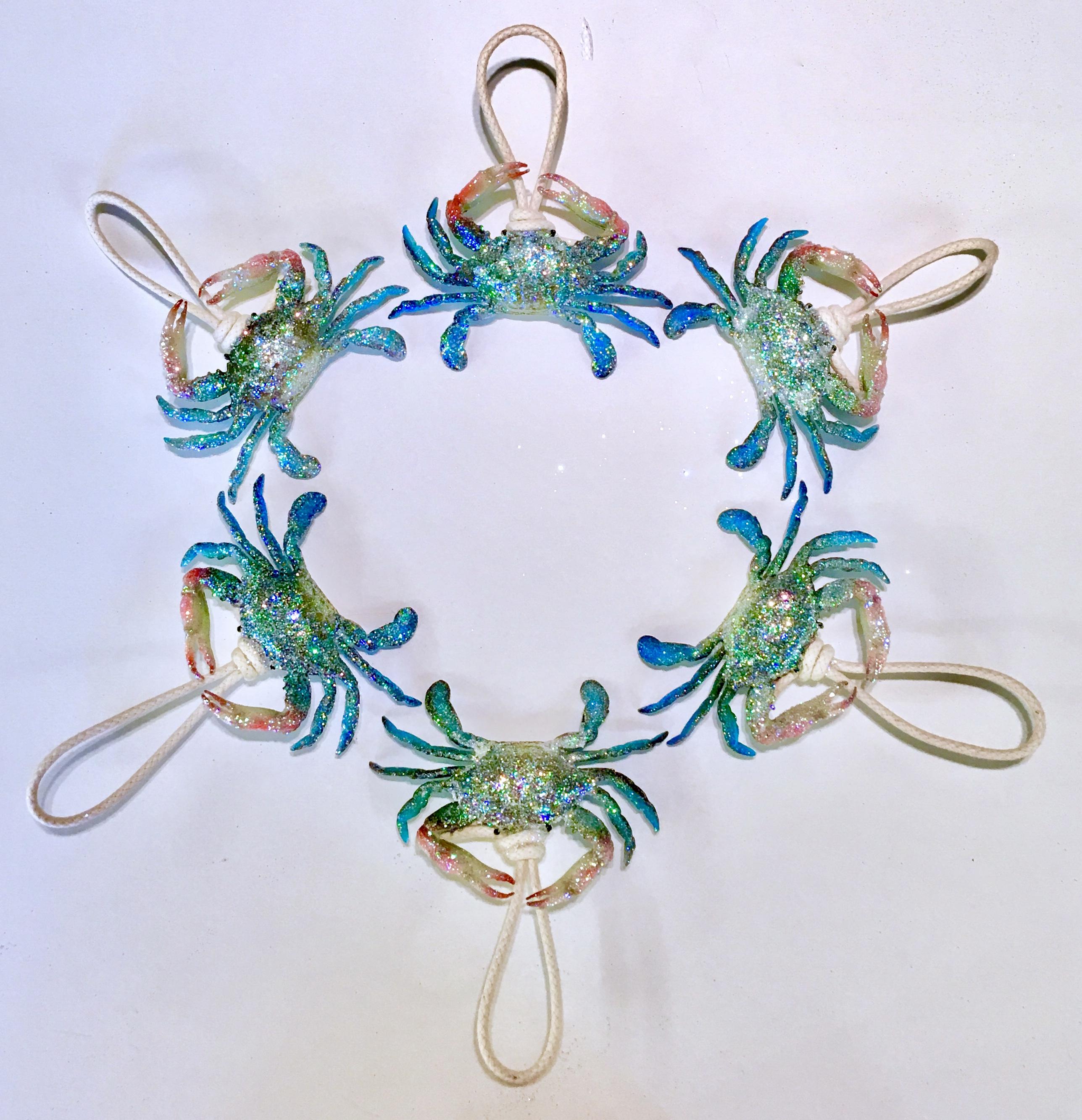 baby blue crab ornaments