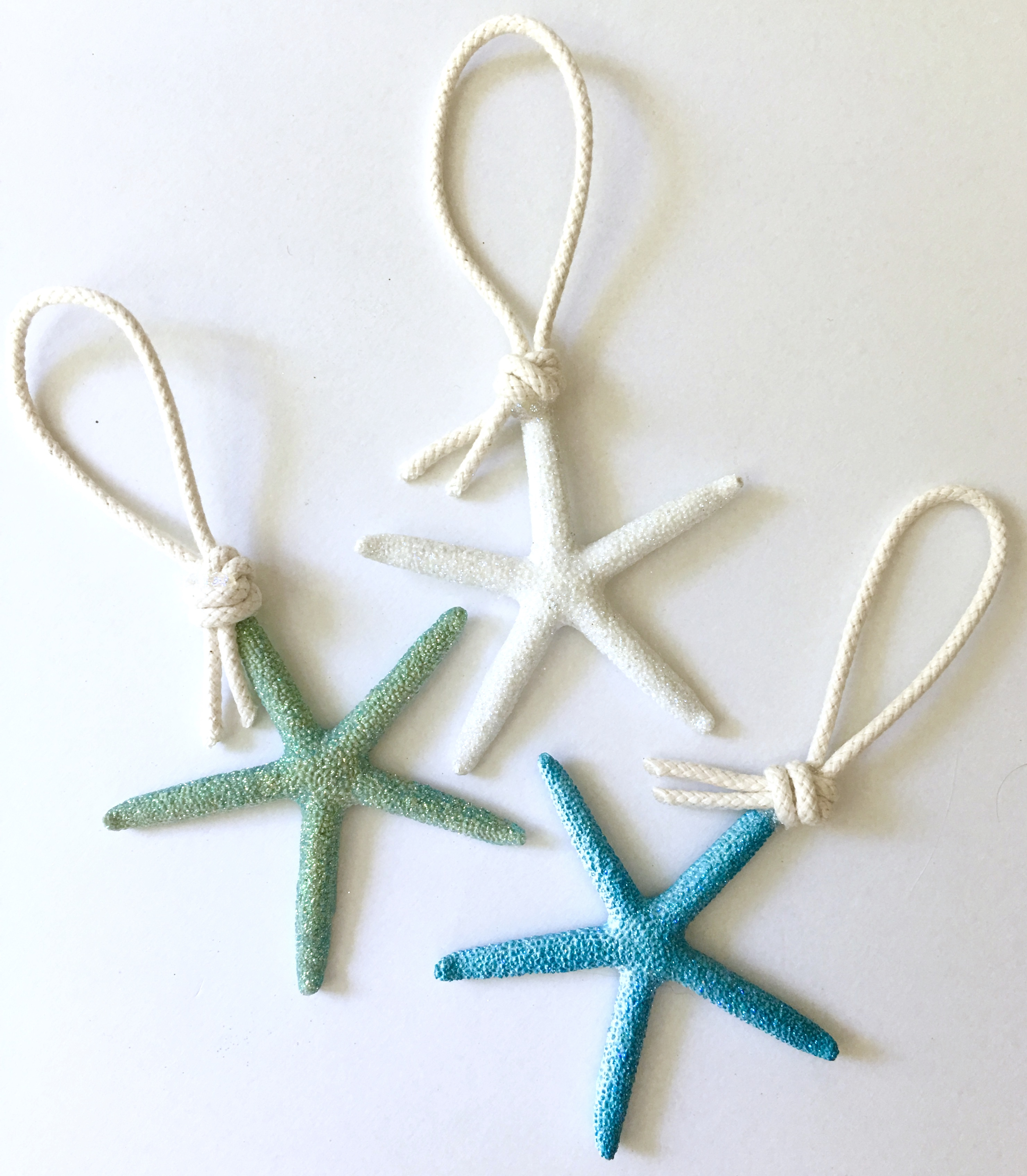 sea star ornaments