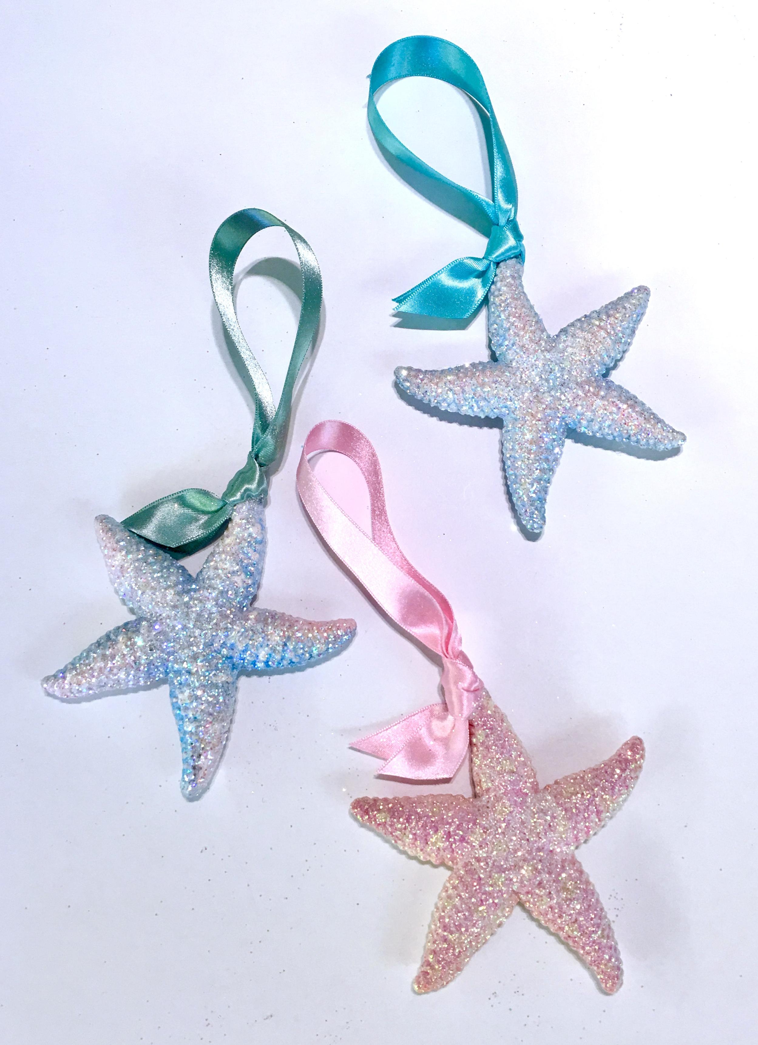 small resin sea star ornaments