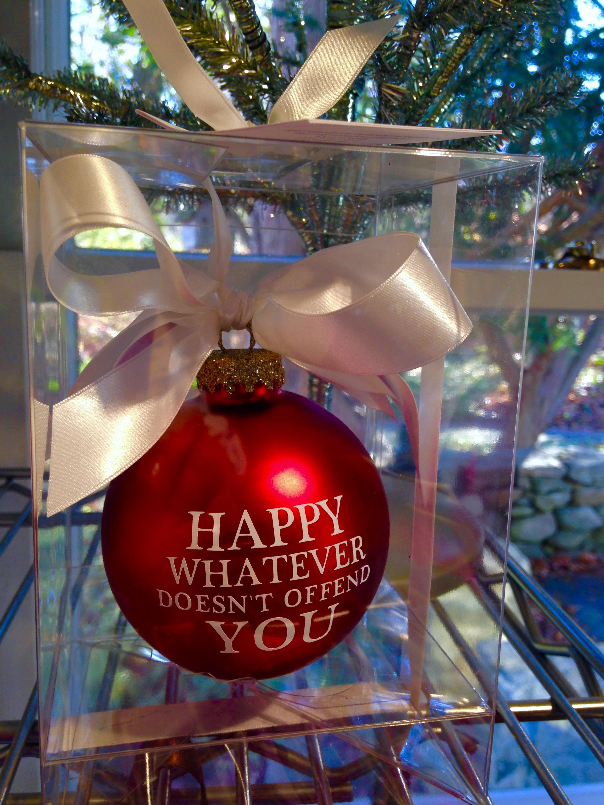 Happy Whatever...