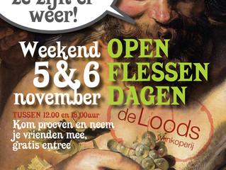 Openflessendagen 5 en 6 november 2016