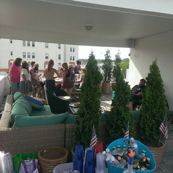4th of July party in Asbury Park