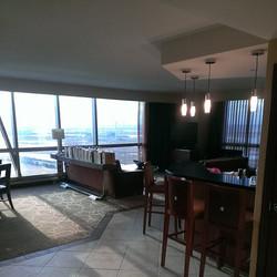 Corporate holiday party inside Harrahs Casino, Atlantic City