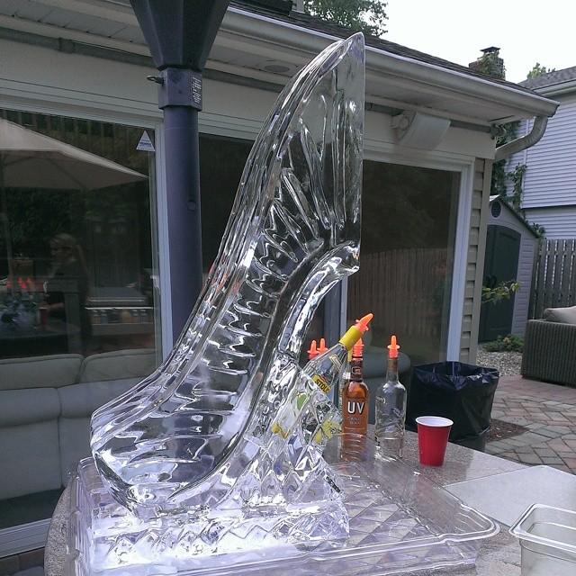 Ice Luge!