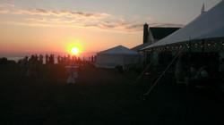Beautiful Wedding Sunset