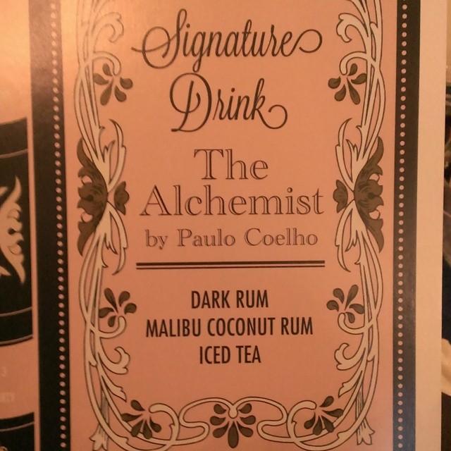 Signature drink #1