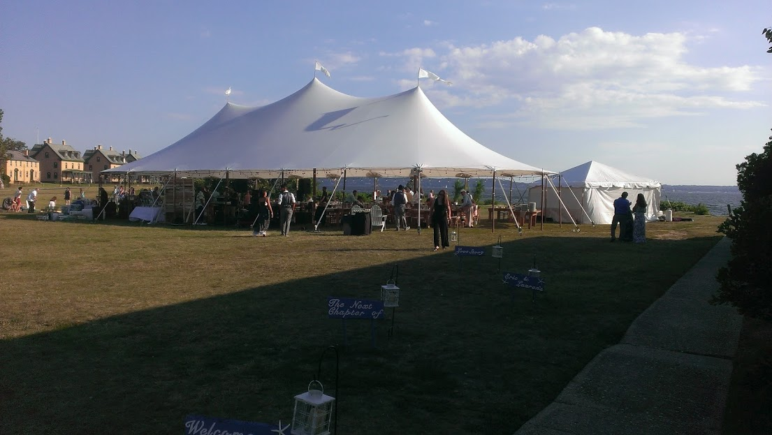 Wedding on Sandy Hook