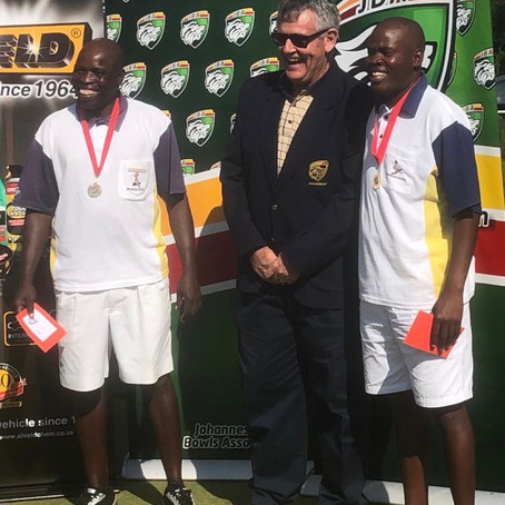 BSC wins JBA bowls pairs tournament