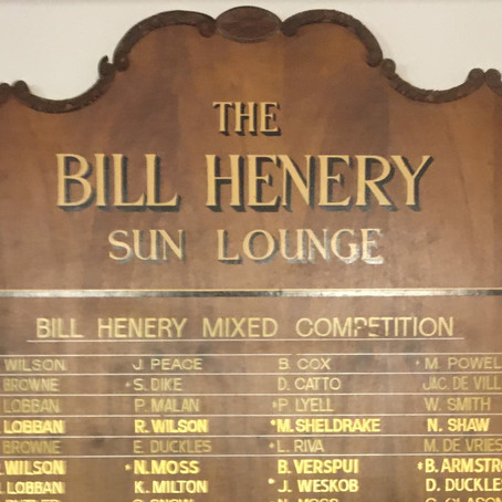 BSC hosted the Bill Henery Bowls Tournament