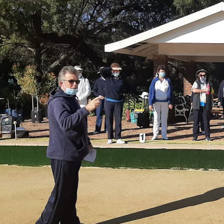 Bryanston Sports Club Bowls Reopened on 18 July