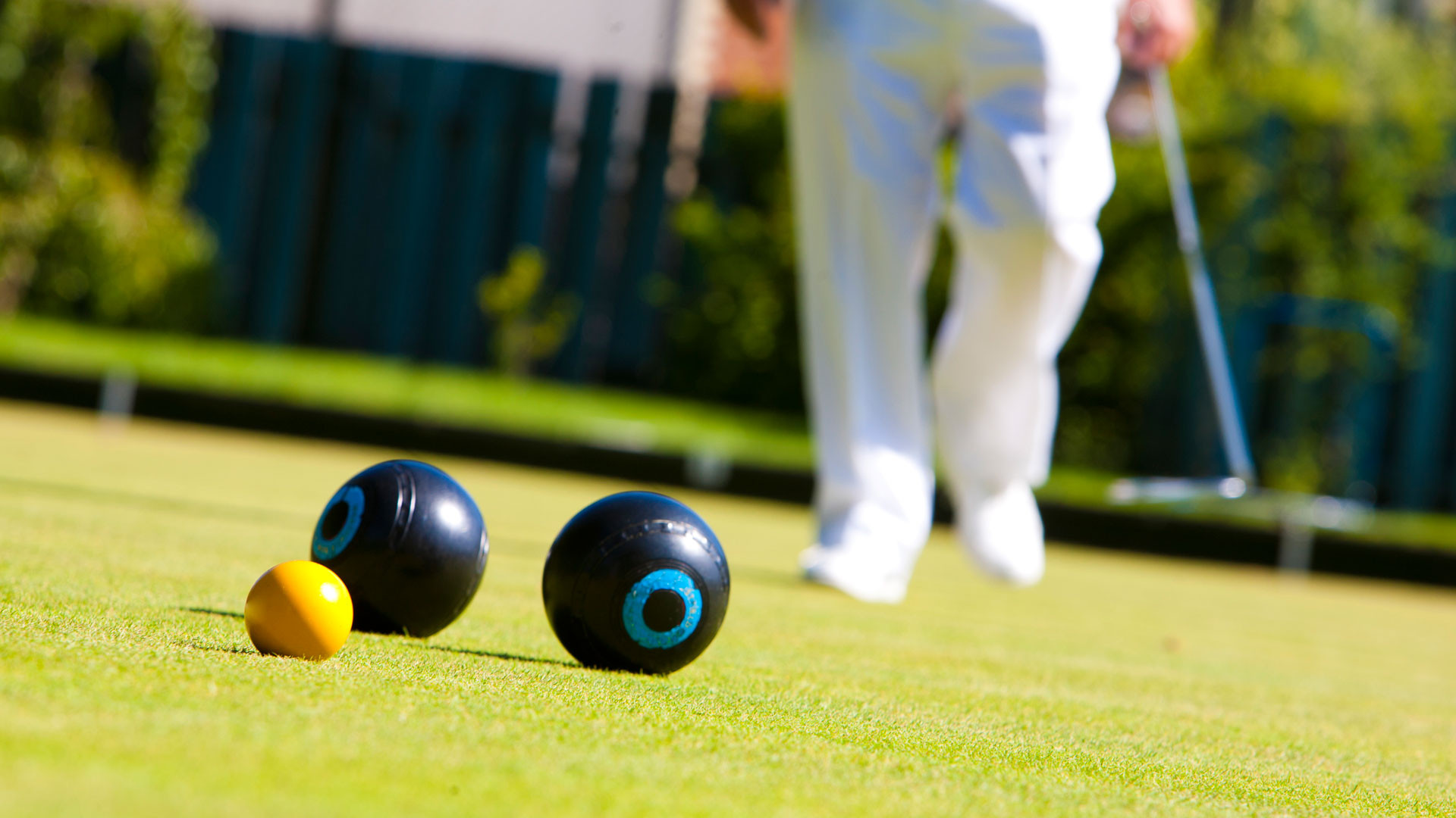 Bowls coaching: afternoon