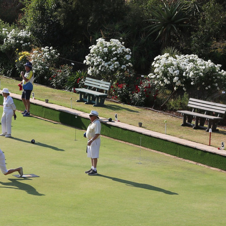 Bryanston Sports Club's roses pruned