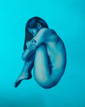 藍石夢 II 162x120cm oil on canvas 2015