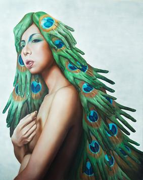 攀墨南客 162×120cm oil on canvas 2016
