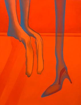 垂垂 41x53cm oil on canvas 2021