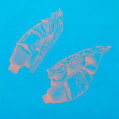 配備升級-極度燥熱 30x30cm oil on canvas