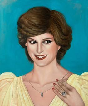 Glory Diana 45.5x38.5cm oil on canvas 2020
