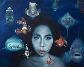 No facial expression I 72x91.5cm oil on canvas 2015