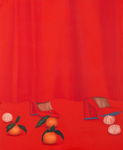 東籬下 65x53cm oil on canvas