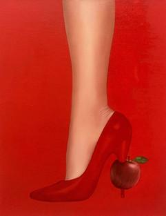 Sweet Apple 35x27cm oil on canvas